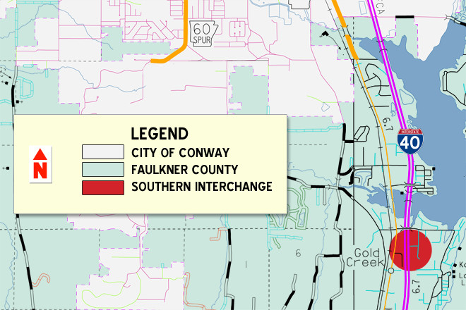 Development Paused at Interchange as Conway Mulls Annexation
