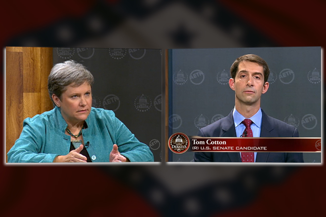 Tom Cotton and Me (Gwen Moritz Editor's Note)