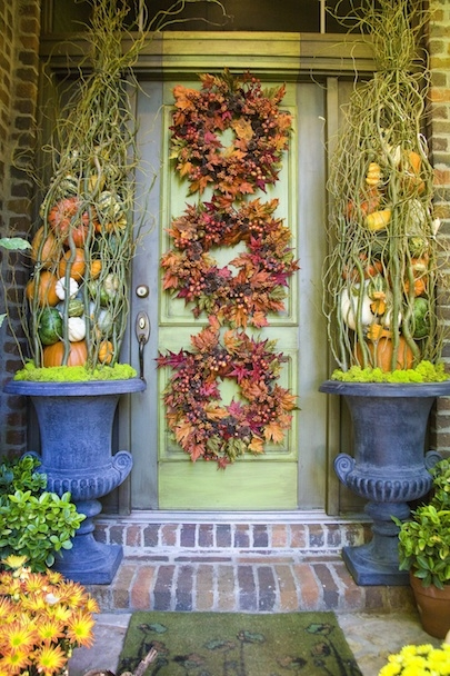 Fall Porch Decorating Ideas from Chris H. Olsen
