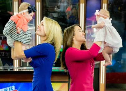 A Tale of Two TV Tots: KARK's Ashley Ketz & Mallory Brooks Introduce Their Families