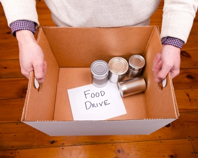Food Drive: 4 Places to Donate Nonperishable Foods For the Holidays