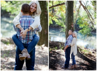 Arkansas Engagement: Christin Beggs & Josh Hall