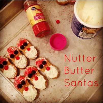 Recipe Files: Nutter Butter Santas with Heather Bennett and Alyse Eady