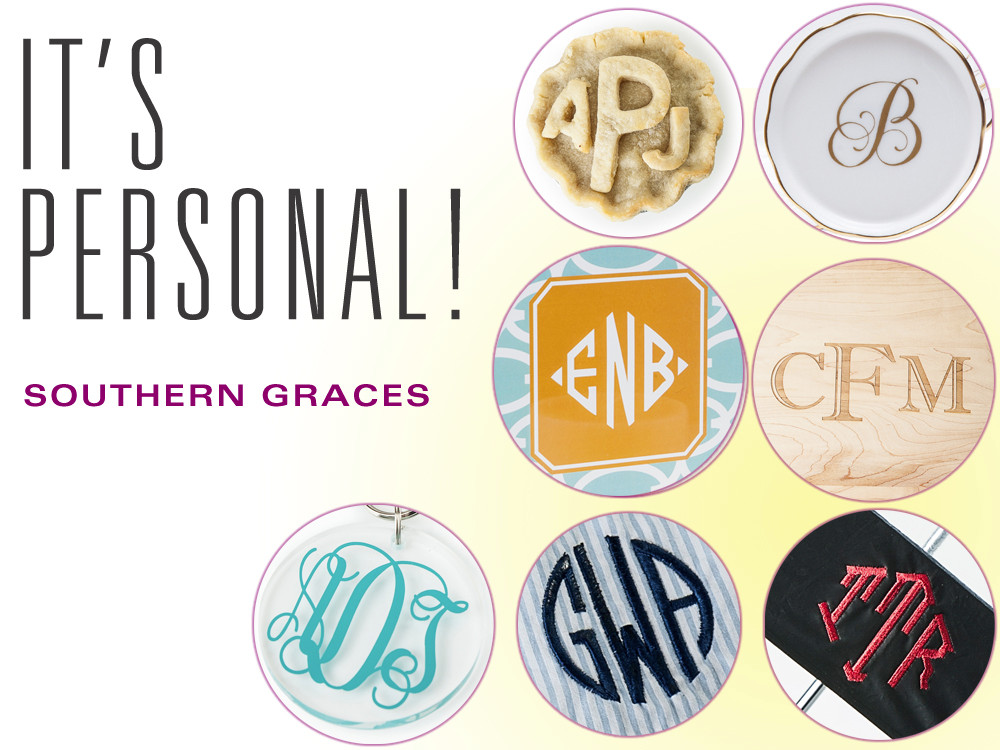 Does It Have Your Name On It Here Are 13 Monogrammed Wedding Gifts