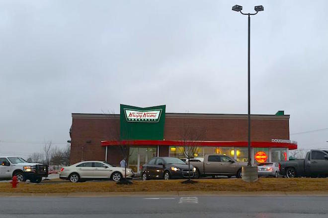 Krispy Kreme Opens in Conway, Plans Pastries 'Round the Clock
