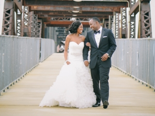 Real Arkansas Wedding: Tea' Jones & Cornelius Boone of Little Rock