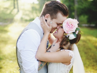 Real Dardanelle Wedding: Samantha Davis & Danny Harrington of North Little Rock