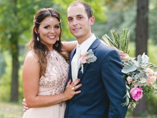 Real Little Rock Wedding: Anna Carter of Stuttgart & Colby Powell of Hope