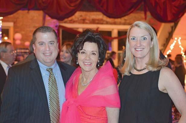 Carl Vogelpohl, Kerry McCoy, Sharon Vogelpohl