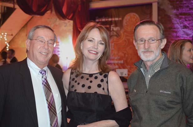 Jerry and Karen Fetzer, Bill Torrey