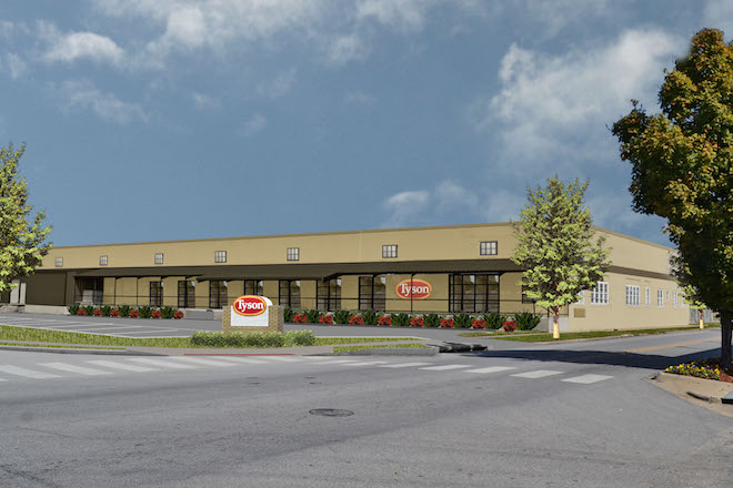 Tyson Foods Gives $1M to Downtown Springdale Alliance