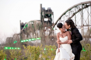 Real Wedding: Samaia Muhammad & Ruda Pollard, Jr.