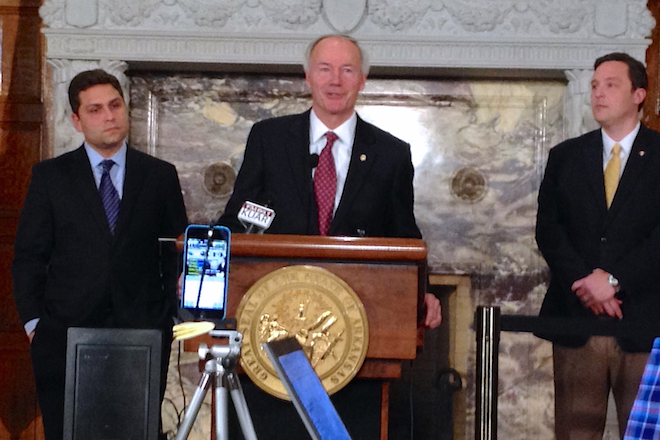 Hutchinson Seeks HB1228 Recall, Wants Law to Mirror Federal RFRA