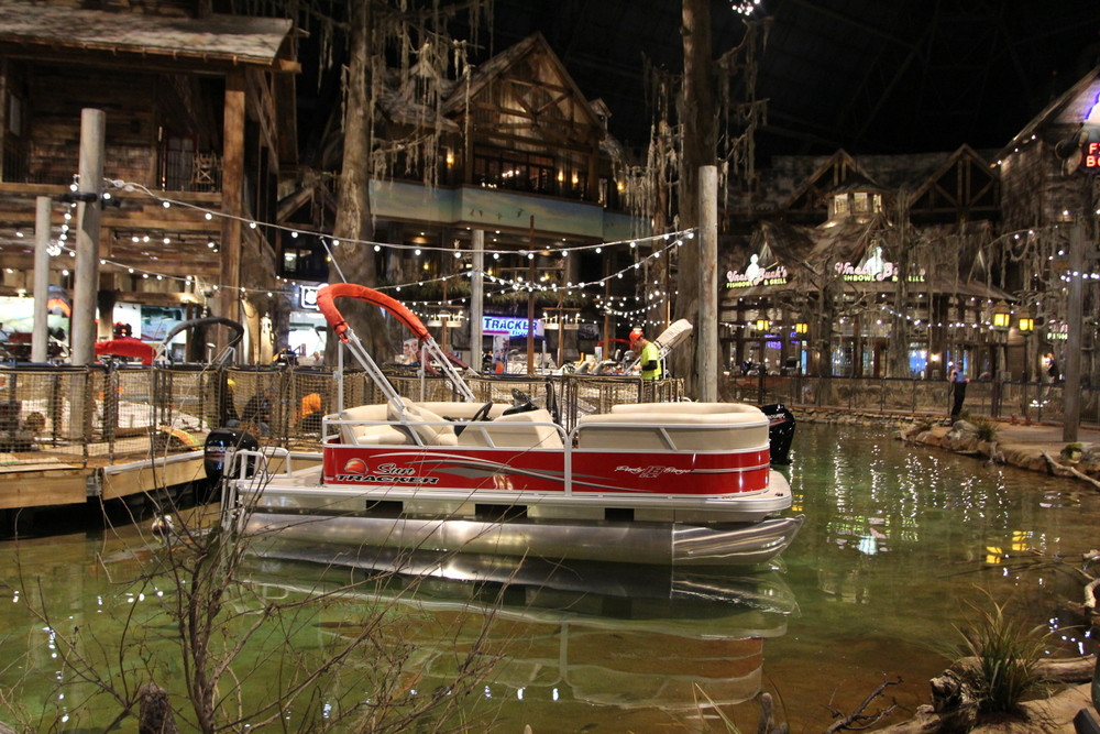 Sneak Peek Look Inside The New Bass Pro Shops At The