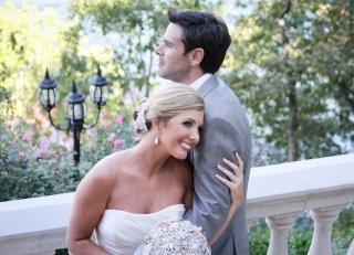 Real Hot Springs Wedding: Amy Crain & Kirk Gober of El Dorado