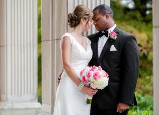 Real Hot Springs Wedding: Stephanie Powers & Randall Ferrell of Los Angeles