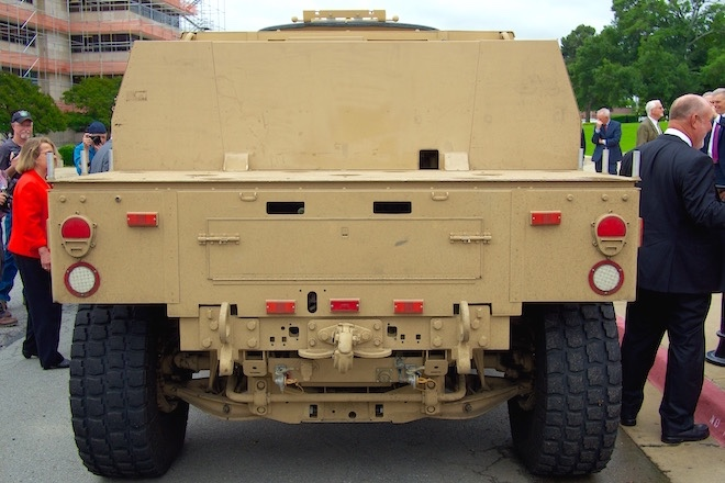 military close to awarding jltv contract arkansas business news. Black Bedroom Furniture Sets. Home Design Ideas