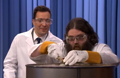 Video: Kevin Delaney Explodes Ping Pong Balls on 'The Tonight Show'
