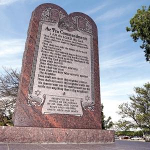 ACLU Monitoring Ten Commandments Monument Law
