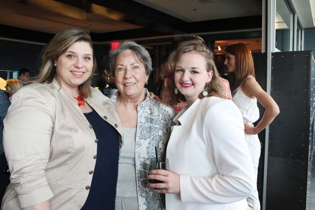 Toni Wyre with her mother, Betty Bandy, and daughter, Kaitlyn Wyre