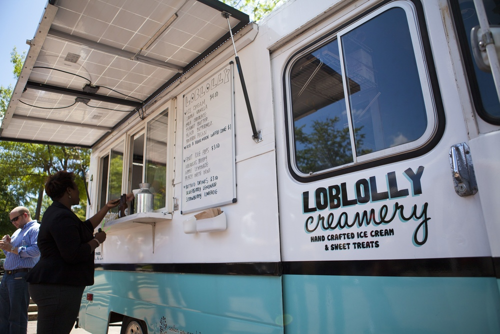Loblolly Creamery, Food Truck Fridays