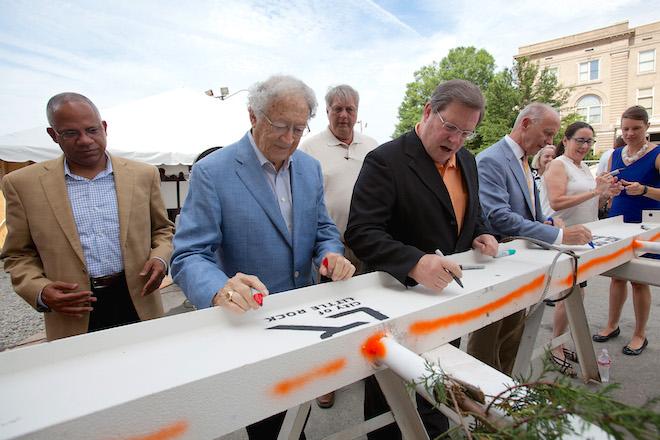 Little Rock Marks Milestone at Robinson Center Renovation