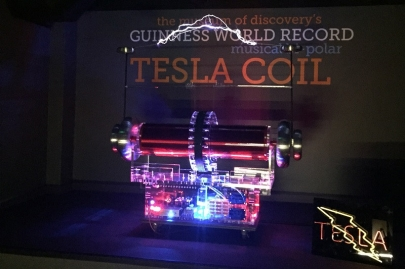 Tesla Coil Debuts at Museum of Discovery on Fourth of July