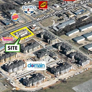 Plans for Small Shopping Center on Fayetteville's MLK Taking Shape