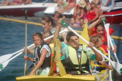 5 Events for Weekend Fun: Cardboard Boat Races, Inflatable 5K and More