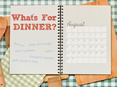 Create a Monthly Meal-Planning Guide in 4 Steps