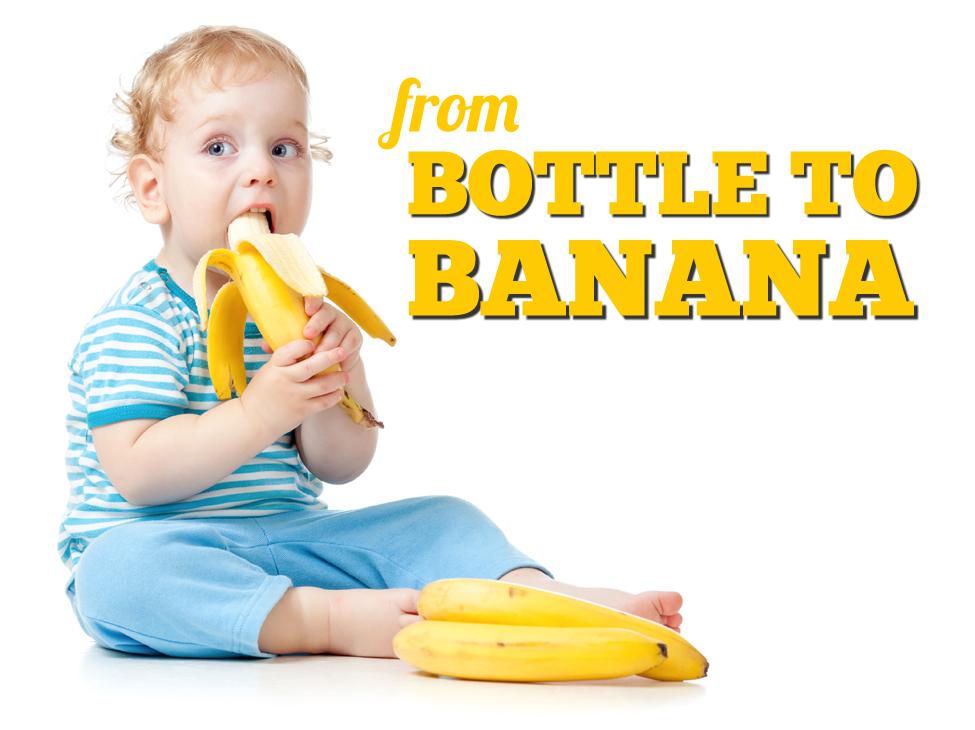 baby led weaning banana