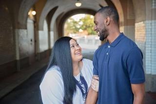 Arkansas Engagement: Jazmin Harris & Jakeel McClure