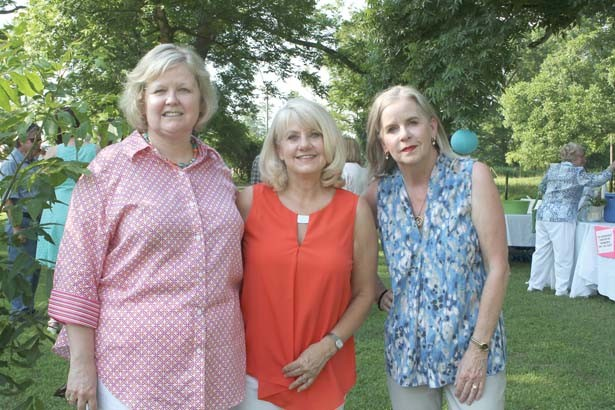 Karen Henson, Sondra Hamilton, Gale Hess