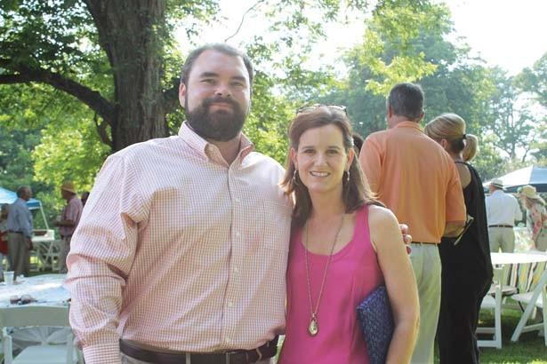 Ben and Tiffany Adams