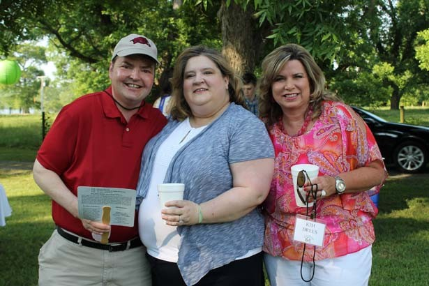 Rev. Ward and Amy Rudolph, Kim Drees