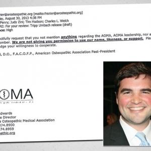 Emails: Osteopathic Association Opposed Jonesboro Location