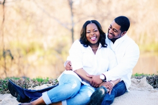Arkansas Engagement: Kenya Newman & Chanson Thompson
