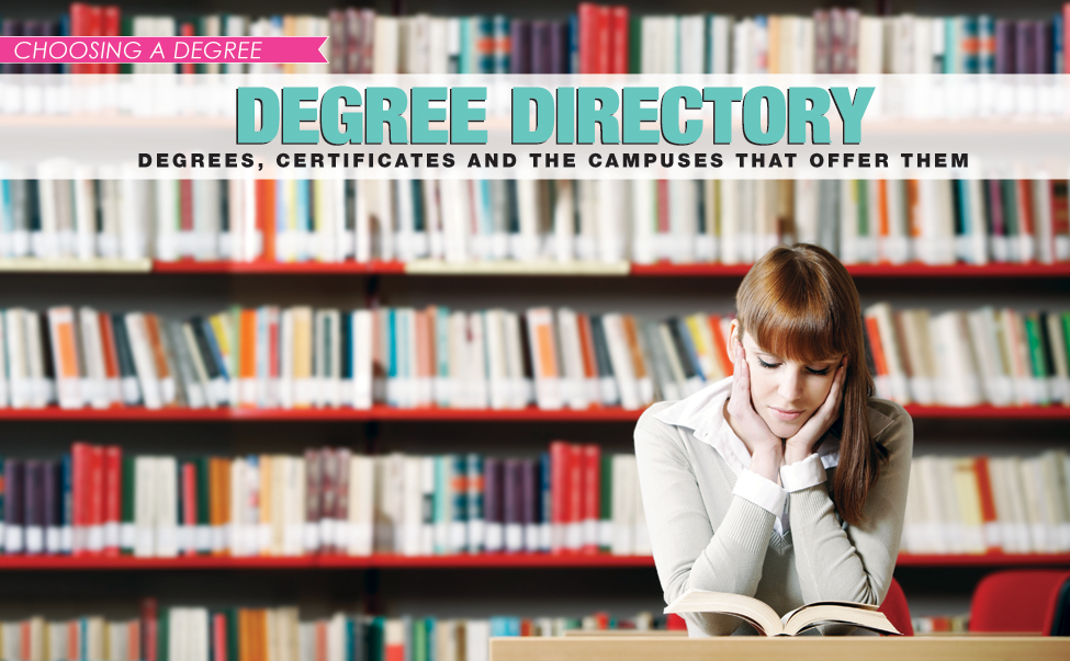 Degree Directory: Degrees, Certificates and The Arkansas College Campuses That Offer Them NEXT 2015