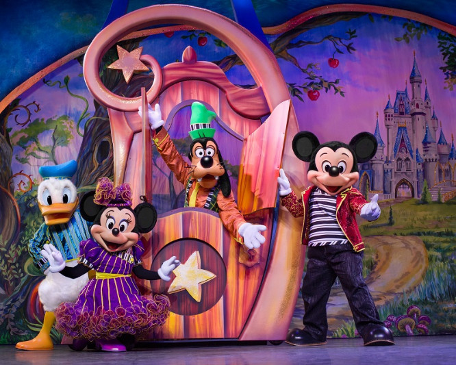 Mickey And Minnie S Doorway To Magic Tour