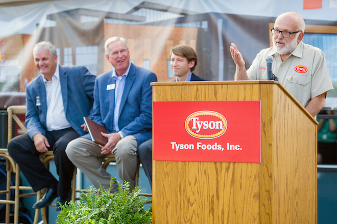 Update: Tyson Foods to Put 300 Workers in Downtown Springdale