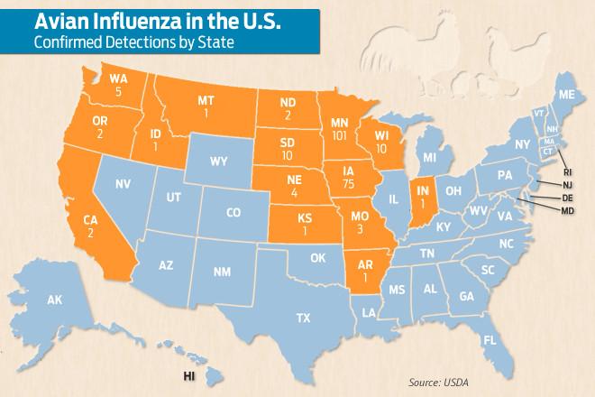 99 ideas Us Bird Flu Map on emergingartspdxcom