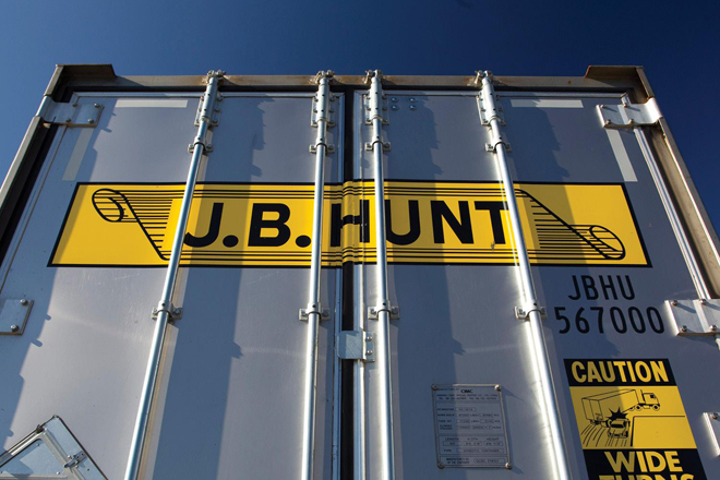 JB Hunt 3Q Earnings Down 8 Percent