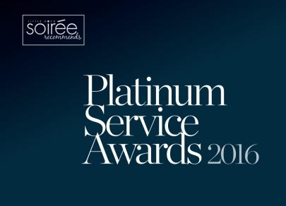 Soirée Recommends: Platinum Service Awards 2016
