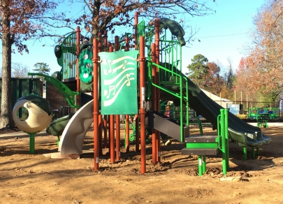 School Crossings: New Access School Playground, Reading Day at LRSD and NLRSD