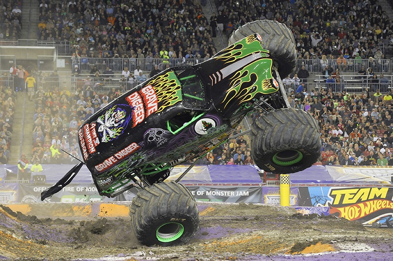 Monster Jam Trucks Rumble Into Central Arkansas Win Show Tickets From Little Rock Family Little Rock Family