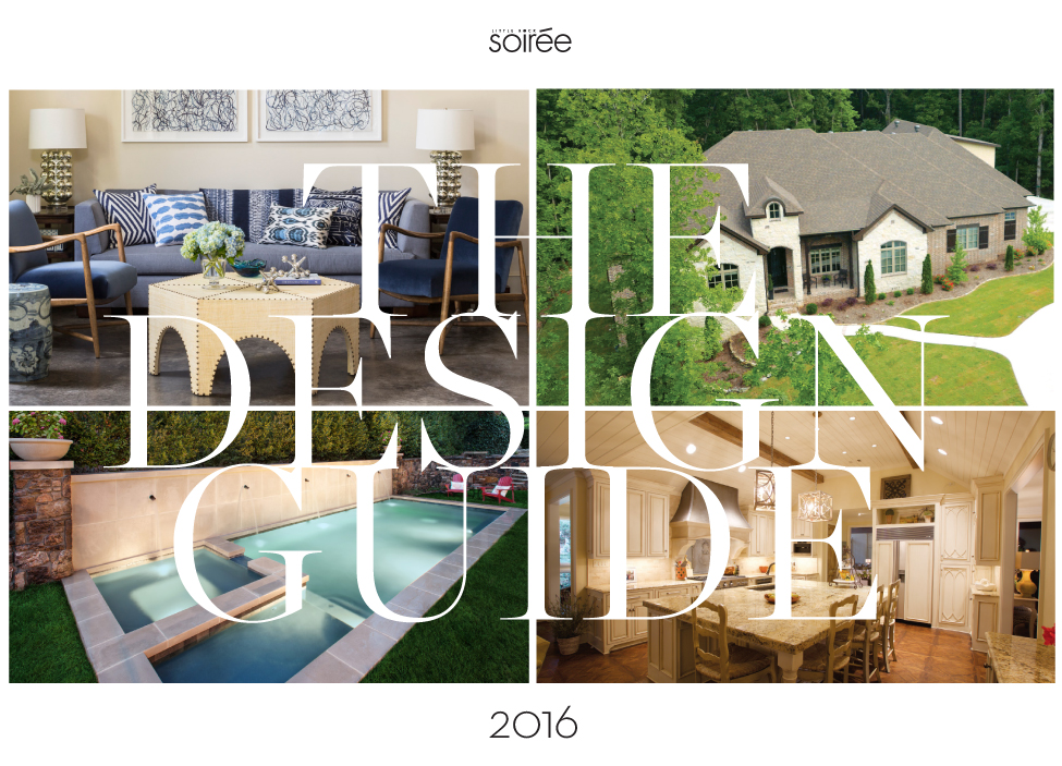 The LIttle ROck soiree Design Guide 2016 title