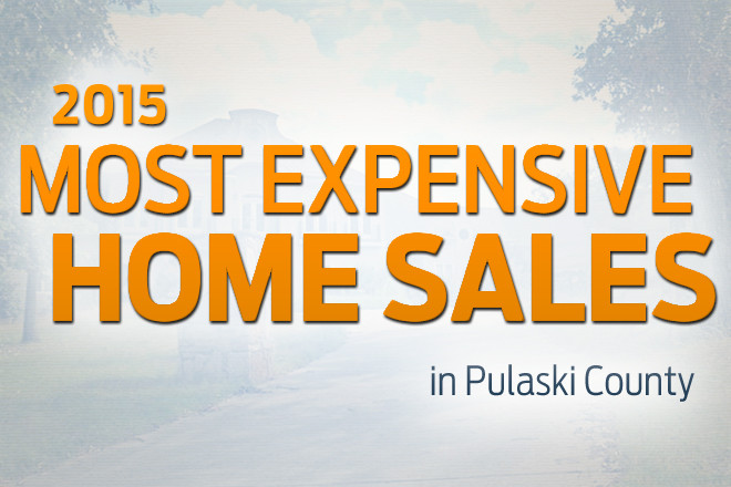 Pulaski County's Most Expensive Home Sales of 2015