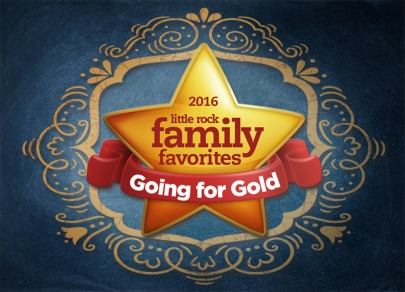 Going for Gold: Presenting the 2016 Little Rock Family Favorites