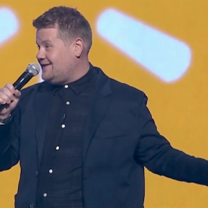 With James Corden on Stage, Wal-Mart Event Part Business, Part Roast