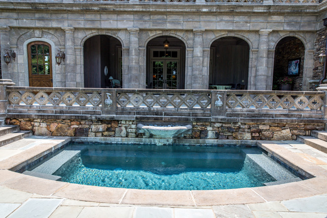 Admiration for classic European architecture inspired Joan and Bruce Johnson to build Dromborg, the castle-like residence now for sale for $9.7 million.